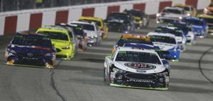 The Latest: Kyle Busch wins fall race at Richmond