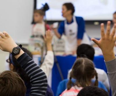 Learn. Bake. Share.: Elementary school students learn the science - and power - of baking