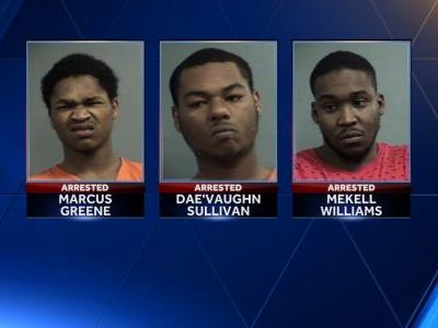 3 charged in west Louisville drive-by shootings that injured 6