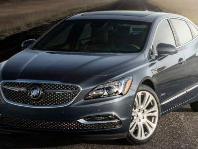 2018 Buick LaCrosse Avenir Starts At A Very Cadillac-Like $45,795