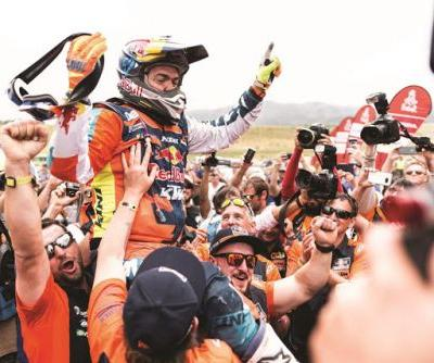 17TH CONSECUTIVE RALLY DAKAR WIN FOR KTM WITH MATTHIAS WALKNER
