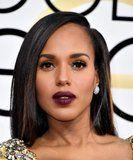 Nope, Kerry Washington Didn't Get Highlights - It's Just Some Cool Clip-Ins