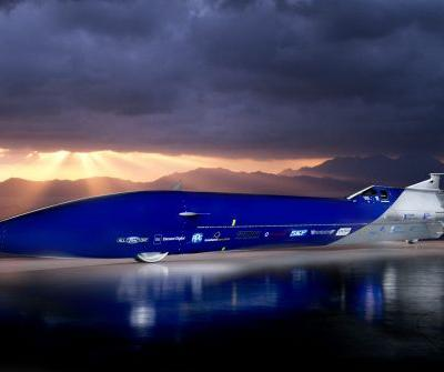Move Over Bloodhound, 200,000 HP Aussie Invader 5R Looking To Attempt Land Speed Record in 2022