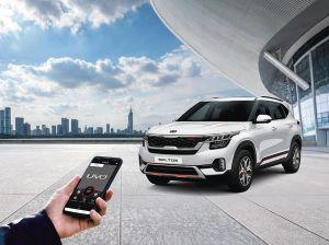 Kia Partners With Vodafone-Idea For UVO Connected Car Services