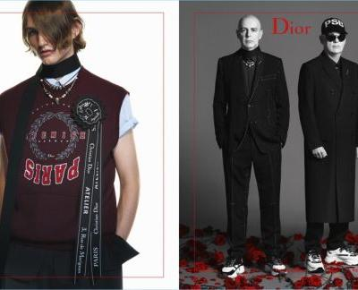 Pet Shop Boys & Charlie Plummer Join Models for Dior Homme Campaign