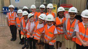 Children Visit Major Station Upgrade to Become Railway Safety Ambassadors