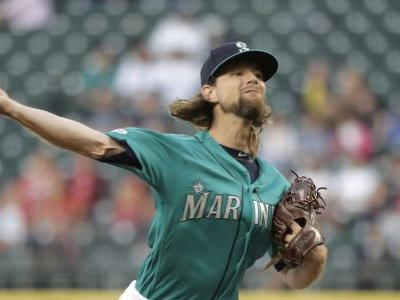 Mike Leake gets three outs away from a perfect game as Mariners club Angels