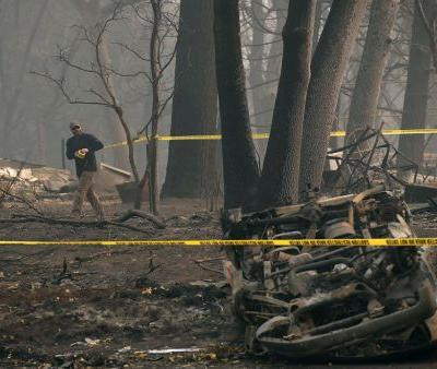Responders continue searches of scorched California communities; remains of at least 71 people found