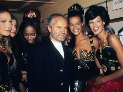 Fashion Flashback: Gianni Versace and the Birth of the Supers