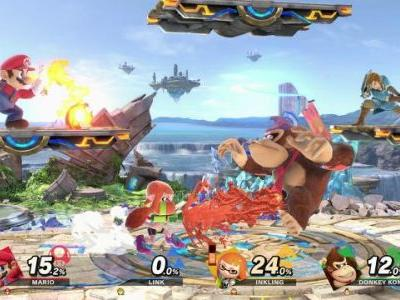 Super Smash Bros. Ultimate Topped the eShop Charts in Japan for 2018