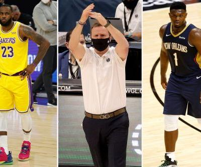 NBA season storylines: Lakers worries, Zion Williamson's next step, Scott Brooks on hot seat