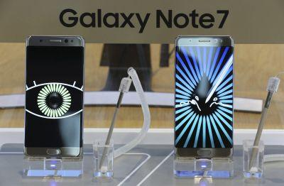 Report: Samsung Note 7 probe finds batteries caused fires