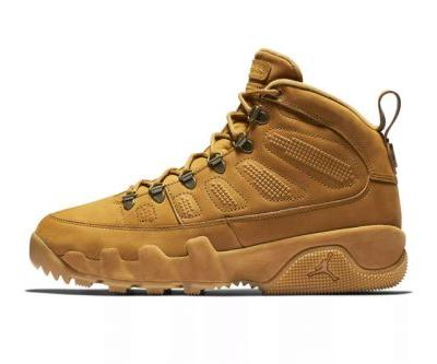 "The Air Jordan 9 Boot NRG Preps to Release in a ""Wheat"" Colorway"