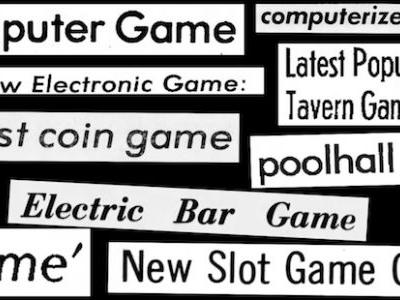 """Video Game History Foundation explores early names for """"video games"""""""