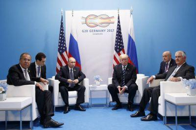 The Latest: Tillerson cites cooperation between US, Russia