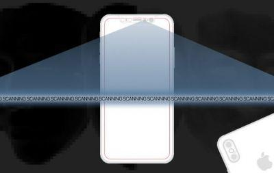 An iPhone 8 3D face-scanner could replace Touch ID