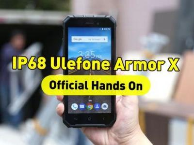 First hands-on video with the rugged Ulefone Armor X