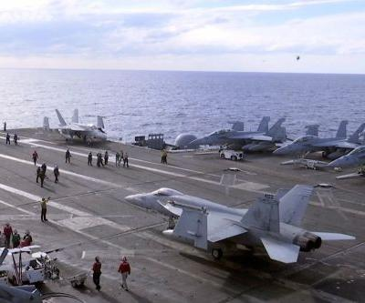 2nd warplane crashes from Navy aircraft carrier in one month