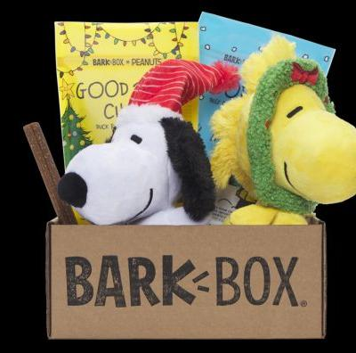 Take Home Snoopy, Woodstock, & The Peanuts Gang With BARK's Limited Edition Dog Toys & Treats This Christmas