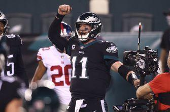 Carson Wentz's game-winning drive fuels Eagles comeback win over Giants, 22-21