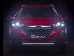 Honda WR-V Facelift Teased In Video With July 02 Launch Date Variant-Wise Features Revealed