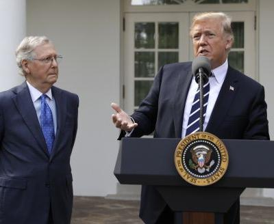 McConnell dismisses Trump attacks on himself, GOP