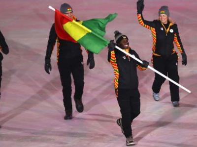 Skeleton competitor from Ghana makes Olympic history