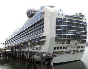 The Latest: FBI: Suspect in custody in cruise ship death