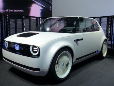 Honda Wins With This Fantastic Electric Retro-Future Concept