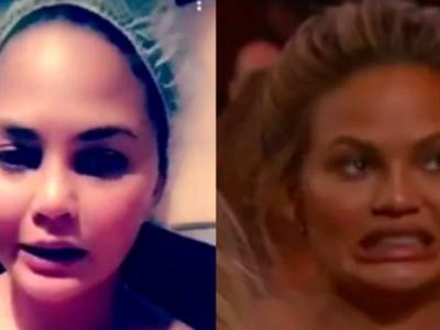 Chrissy Teigen Apologizes For Having Nipples After Accidental Nip Slip