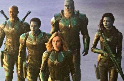More Captain Marvel Photos Show Off Skrulls, Mar-Vell and Young