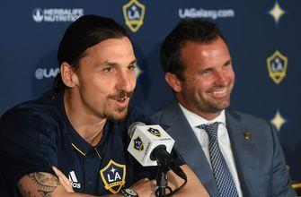 Zlatan Ibrahimovic's introductory Galaxy press conference didn't disappoint