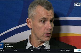 Billy Donovan on loss to LA Clippers: Thunder fall to Clippers 108-92 | Thunder Live