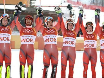 Norway breaks U.S. record of most medals won at Winter Olympics