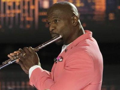 Watch America's Got Talent's Terry Crews Strip And Play The Flute In Pec-Jumping Performance