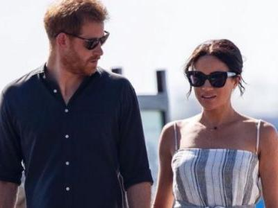 Pregnant Meghan Markle cradles her baby bump in adorable new video