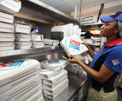 Domino's Pizza sinks on the latest sign the food-delivery wars are hurting sales