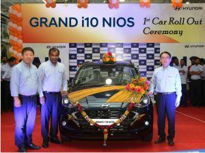Hyundai Grand i10 Nios Production Begins First Model Rolled Out