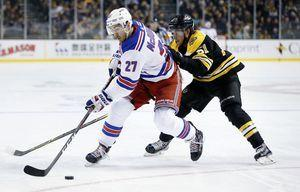 Zuccarello scores PP goal in OT as Rangers beat Bruins 3-2