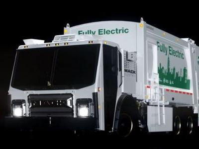 The Mack Electric LR Is The Future Of Trash