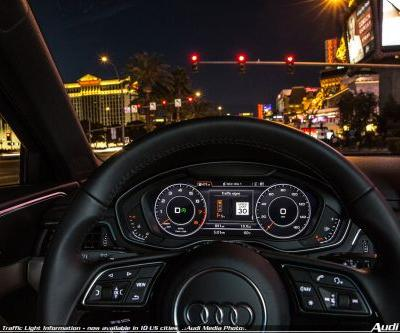 Audi expands Traffic Light Information - now available in 10 US cities