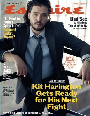 Kit Harington Covers Esquire, Talks Life After 'Game of Thrones'