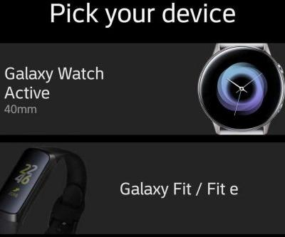 Samsung leaks entire new wearables lineup through its own app