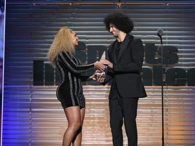 Beyoncé Made a Surprise Appearance In LaQuan Smith to Honor Colin Kaepernick