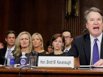 Facebook is battling an internal revolt after one of its execs went to the Kavanaugh hearing