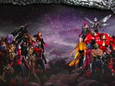 Infinity War Standee Unveiled, Avengers 3 Trailer Not Ready Yet