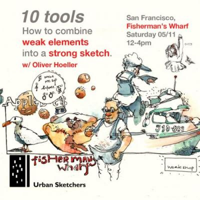USk Workshop: 10 tools - How to combine weak elements into a strong sk