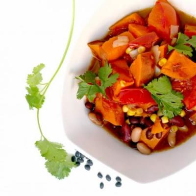 The BEST Vegan Sweet Potato Chili