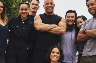 First Fast & Furious 9 Cast Photo Celebrates Michelle