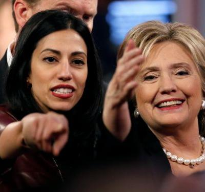 'This man is going to be the death of me': Huma Abedin broke down in tears after learning of her estranged husband's connection to the Clinton email investigation